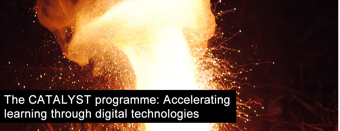 The CATALYST programme: Accelerating learning through digital technologies